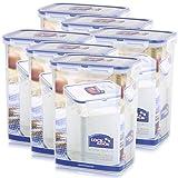LOCK & LOCK HPL813 Frischhaltebox/Multifunktionsbox / Frischhaltebehälter/Mehldose HPL813-6er Set