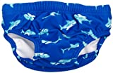 Playshoes Baby - Jungen Schwimmbekleidung 460120 Badewindel, Badehose, Schwimmwindel Hai höchstem UV-Schutz nach Standard 801 und Oeko-Tex Standard 100, Gr. 86/92, Blau (original)
