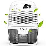 Afloia mini Luftentfeuchter kompakter und tragbarer 500ml Raumentfeuchter Entfeuchter Dehumidifier zu Hause,in der Küche,im Schlafzimmer,Wohnwagen,Büro und Garage,Grau