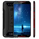 Cubot Quest Lite (2019-Ultra Dünn) Outdoor Smartphone 4G LTE, 5' HD Display (720 * 1280) Kamera 13MP+8MP, Android 9.0 Quad Core 2.0 GHz 3GB+32GB, Dual SIM IP68 3000 mAh Akku Fingerabdruck -Rot