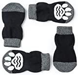 Pet Heroic Indoor Anti-Rutsch Socken für Hunde und Katzen |8 Größen von S bis 5XL für kleine-riesige Tiere | Pfotenschutz und Traktion Dank Silikon-Gel