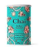 Chai Latte Tee (398g) Flavour Indian Summer: Instant-Chai Tee Latte-Mischung in Pulverform, zu genießen zu Hause, im Café, oder im Restaurant, reicht für 15 Tassen.