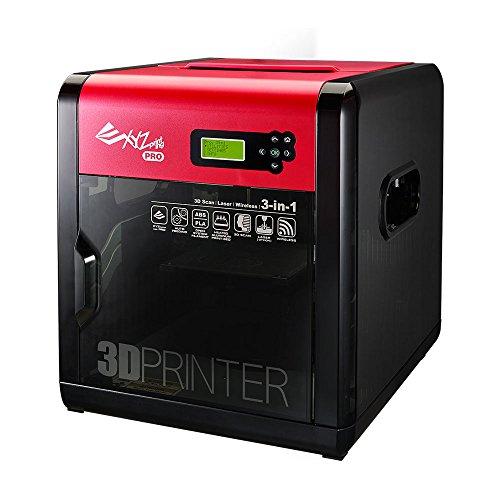 XYZ Printing da Vinci 1.0 Pro 3-in-1 (3D-Drucken, 3D-Scannen, Optionaler Laser-Gravierer), Offenes Filament System, WLAN, 20x20x20cm Druckgröße