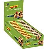 PowerBar Natural Protein Riegel aus Sojacrisps, Erbsenprotein, Erdnüssen und Sojabohnen – Eiweiß-Riegel, Fitness-Riegel, Müsli-Riegel – Vegan – Blueberry Nuts (24 x 40g)
