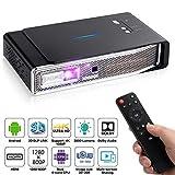 OTHA Mini Beamer Projektor Support 3D DLP-Link 4K 1080P Full HD Videoprojektor 3800 Lumens WXGA, Heimkino Kompatibel mit Fire TV Stick AV HDMI USB