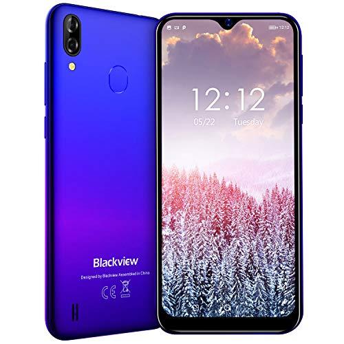 Blackview A60 Pro (2019) 4G Smartphone ohne Vertrag Günstig 6,1 Zoll Android 9.0 3GB RAM + 16GB ROM, 256GB erweiterbar 4080mAh Akku 8MP+5MP Dual Kamera Dual SIM Handy - Face/Fingerabdrucksensor