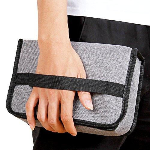 Lifewit Lunchbox Tasche kühltasche Isoliertaschekleine Lunchtasche für die Arbeit und Schule,Grau