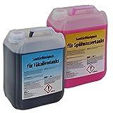 2 x 5 Liter Sanitärflüssigkeit für transportable Toilettensysteme von BB Sport