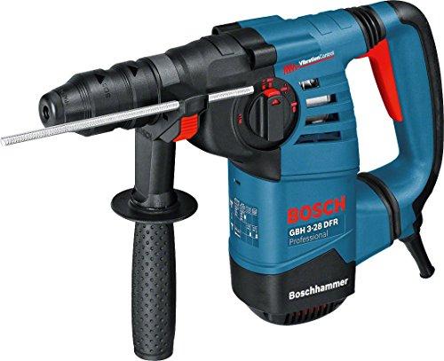 Bosch Professional Bohrhammer GBH 3-28 DFR (Wechselfutter SDS-plus, Schnellspannbohrfutter, L-BOXX, Bohr-Ø in Beton mit Hammerbohrern: 4 - 28 mm, Schlagenergie max: 3,1 J, 800 Watt)