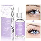 Antialterung Augencreme, Augencreme gegen Falten und dunkle Augenringe Mit Hyaluronic, Reduzieren Sie Taschen, Schwellungen und Falten,dunkle augenringe entfernen Augenserum-30ml