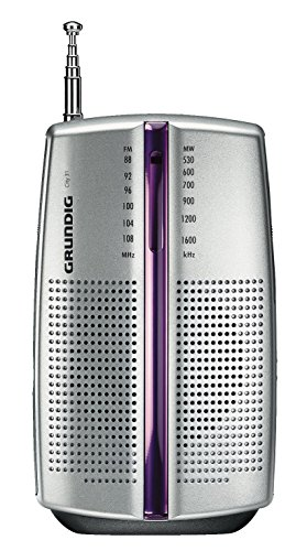 Grundig City 31 Tragbares Radio (UKW-/MW-Tuner) chrome