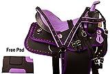 Esposita Westernsattel Set 'Violet' 16'