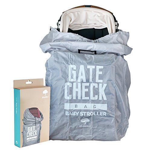 Kinderwagen Transporttasche – Kinderbuggy Tasche und Reisetasche ideal für den Gate Check in beim Fliegen – einfacher Buggy Transport & leicht zu identifizieren am Flughafen Gepäckband