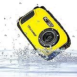 PowerLead Unterwasser Kamera 2,7 Zoll LCD Digitalkamera 16MP Video Camcorder wasserdicht Kamera Zoom Video Recorder + 8 X Zoom Cam