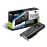 Asus Turbo-GTX1060-6G Gaming Nvidia GeForce Grafikkarte (PCIe 3.0, 6GB GDDR5 Speicher, HDMI, DVI, Displayport)