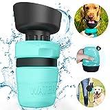 Hunde Wasserflasche,520ml Tragbare Hund Trinkflasche, Leckdichte Outdoor Trinkflasche,Katzen Hunde Wasserflasche für Unterwegs, Wandern, Draussen, BPA Frei