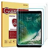 OMOTON [2 Stück] Panzerglas Schutzfolie für Das Neue iPad 9.7 Zoll 2018, iPad 2017,iPad Pro 9.7 Zoll, iPad Air 3/2/1,mit Schablone,9H Härte, Anti-Kratzer, Anti-Öl, Anti-Bläschen