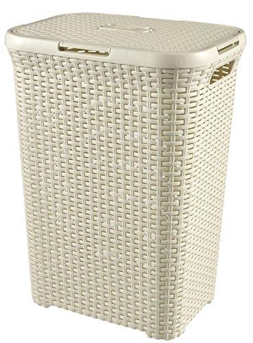 Curver 70788501 Wäschebox, 60 L, creme