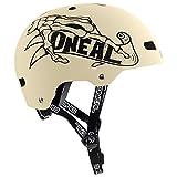 O'Neal Dirt Lid ZF Bones Fahrrad MTB BMX Helm Mountain Bike FR Fidlock Magnet Verschluss, 0584-B, Farbe Beige, Größe L/XL