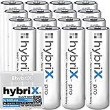 16er Pack Kraftmax hybriX pro Set - 16x Mignon AA Hybrid Akkus in Box - Die Neue Generation von Hybrid Akku Batterien