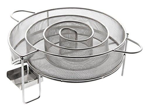 MUSTANG Kaltrauchgenerator | Kaltraucherzeuger | Smoke Generator | Ø18cm Höhe 4cm | Starter Set Finnland