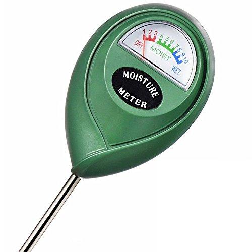 XLUX T10 Boden-Feuchtigkeitsmessgerät – Boden-Feuchtigkeitsmesser, Hydrometer für den Garten & die Landwirtschaft, keine Batterien erforderlich