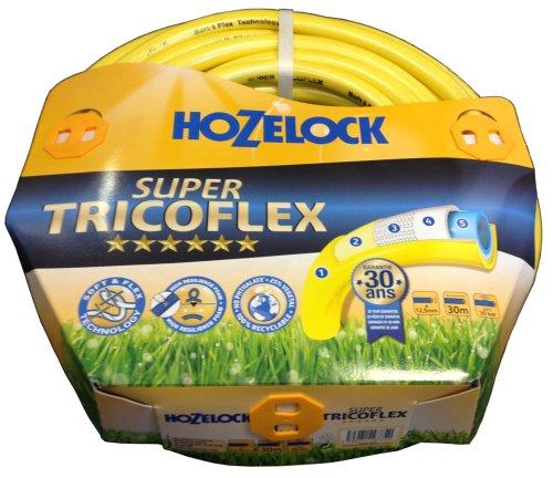 Super Tricolfex 116774 Wasserschlauch 1/2 Zoll gelb 30 m Rolle
