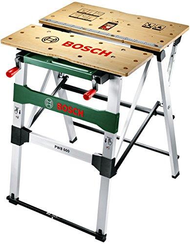 Bosch Arbeitstisch PWB 600 (4x Spannbacken, Tragekapazität max.: 200 kg, Karton)