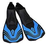 Seac Unisex– Erwachsene Vela Kurze Flossen zum Schwimmen im Schwimmbecken oder im Meer, blau, 40-41