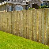Floordirekt Bambusmatte Brasil | Sichtschutz-Zaun aus gespaltenem Bambus | 300 cm breit | für Balkon, Terrasse, Garten | in 3 Größen (200 cm x 300 cm)