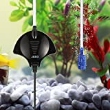 Aquarium Luftpumpe, Focuspet Leise Luftpumpe Für Aquarium Mini Luftpumpe Aquarium Oxygen Luftpumpe Für Aquarium Mit Air Stone Und Silikonschlauch Schwarz
