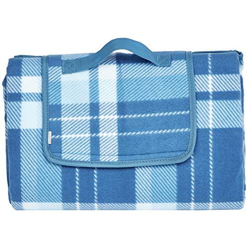AmazonBasics Picnic Blanket with waterproof backing
