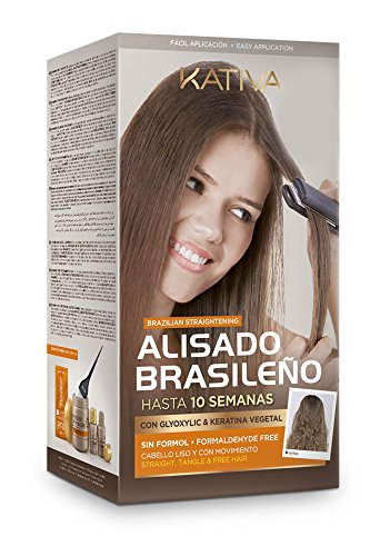 Kativa Keratin Agan Oil Brazilian Straightening Kit