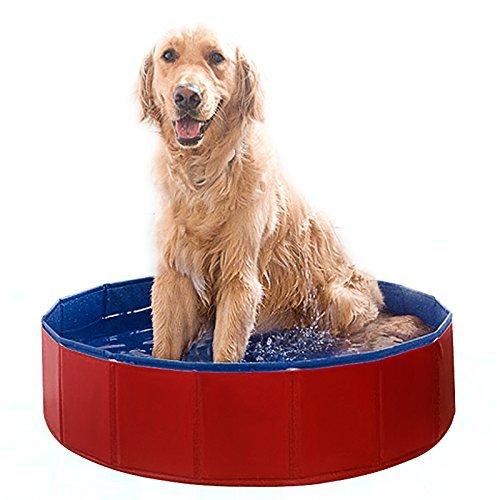 FEMOR Doggy Pool das Planschbecken Hundepool Swimmingpool für den Hun 3 Größe (120*30cm)