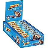 Powerbar Protein Riegel ProteinNut2 Eiweiß-Riegel (Kohlenhydratreduziert, kaum Zucker, mit Erdnüssen) Milk Chocolate Peanut, 18 x 45g