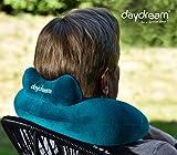 daydream: Reise Nackenkissen mit Kopfstütze aus Mikroperlen, petrol (N-5065) Nackenhörnchen / Reisekissen / Nackenstützkissen / Kissen / Nackenrolle / Testsieger bei Produkttester.Community