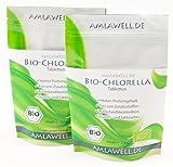 Amlawell Bio Chlorella Tabletten / 500g / 2000 Presslinge / Bio - DE-ÖKO-039
