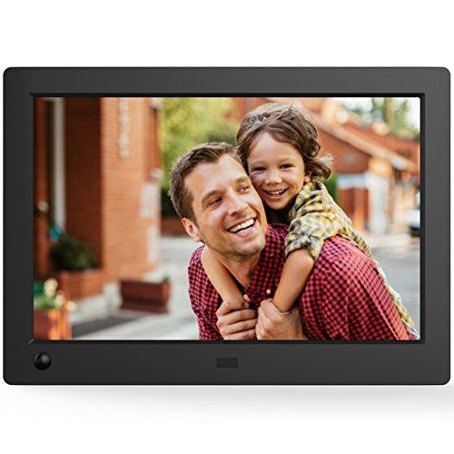 NIX Advance 8-Zoll Widescreen - Digitaler Foto-und Video-Rahmen mit Bewegungssensor - X08G