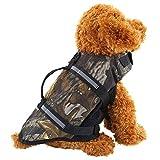 LKIHAH Haustier Hund Schwimmweste Rettungsweste,Light Weight Haustier Hundeschwimmweste,XXS