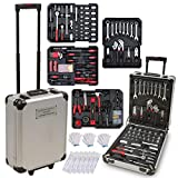 hanSe Werkzeugkoffer Maxi 810-teilig Werkzeug Trolley gefüllt Werkzeugkasten Werkzeugkiste Heimwerker Werkzeugset