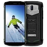 Blackview BV5800 (2018 Neueste), Outdoor Smartphone Ohne Vertrag 5580mAh Akku mit 5A/2A Schnellladung, Dual LTE 4G Smartphone 13MP + 8MP Doppel Rückkameras, Android 8.1 Smartphone 18:9 HD Bildschirm 5.5 Zoll Touch-Display, Robustes Smartphone 2GB RAM+16GB ROM IP68 Wasserdichtes Staubdicht Stoßfestes mit GPS/ NFC/ OTG/ Fingerabdruck-Grün
