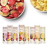 Gefriergetrocknete Früchte & Superfoods für leckere Früchte-Smoothies und gesunde Snacks zwischendurch | BUAH SMOOTHIE-PROBIER-KORB | 100% Frucht | 0% Zusätze | Healthy Snacks (16g-32g)