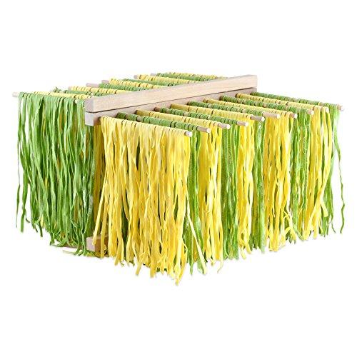 Nudeltrockner - Pasta Ständer aus Buchenholz XL