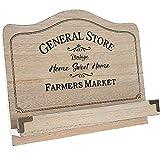 Home Sweet Home Vintage Rezeptbuchständer aus Holz