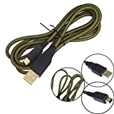YUYIKES High Speed Premium USB-Datenkabel/Ladekabel für Nintendo 3DS / 3DS XL/DSi/DSi XL, mit Mikrofaser-Reinigungstüchern