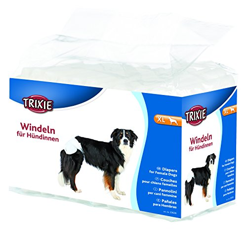 Trixie 23636 Windeln für Hündinnen, Größe XL, 12 Stück