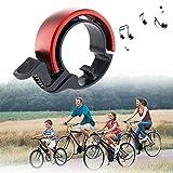 WeyTy Fahrradklingel Laut, Fahrradglocke Universal Fahrrad Ring für Alle Fahrrad Fahrrad-Klinge Alarm Horn Lenkerklingel (2 Farben,Lenker Alarm Horn Ring 22,2-22.8mm)
