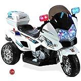 US HighWay Patrol POLIZEI MOTORRAD Elektro Kindermotorrad Roller Kinderfahrzeug