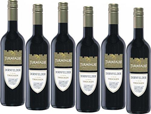Turmfalke Dornfelder Qualitätswein trocken (6 x 0.75 l)