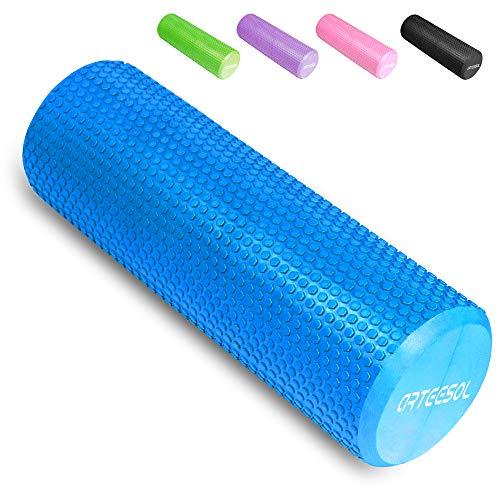 arteesol Faszienrolle Standard, Fitness Faszienroller Runde Massagerolle 30/45/60/90cm × 15cm Schaumstoffrolle für Trainning Selbstmassage Pilates Stretching Balance